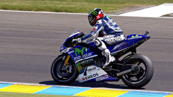 foto: Jorge Lorenzo, piloto probador oficial de Yamaha en 2020
