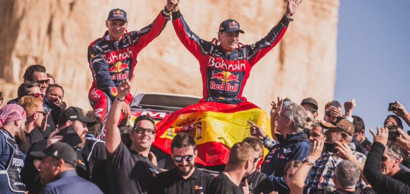 Carlos Sainz gana su tercer Dakar con 57 años