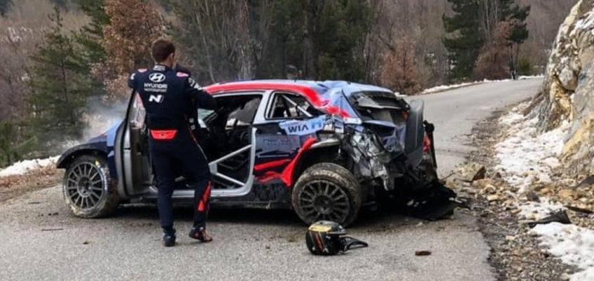 Accidente brutal de Tänak en el Rally de Montecarlo