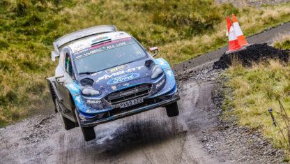 foto: Lappi, de estar sin equipo a líder de Ford en el WRC