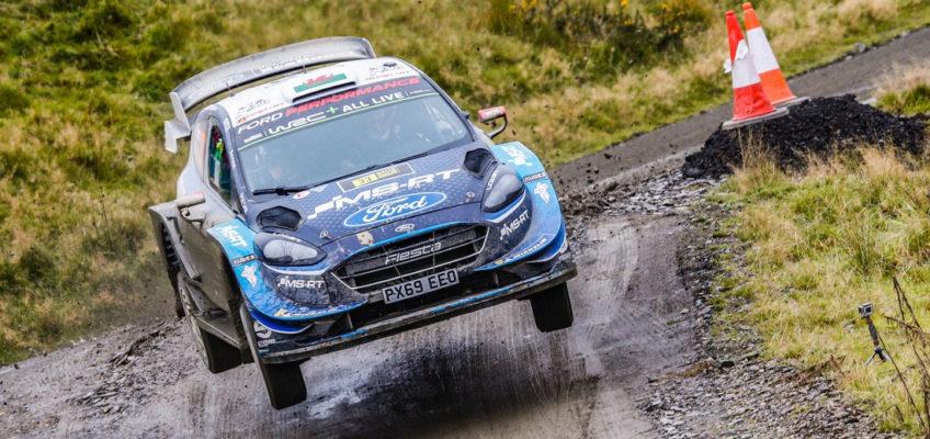 Lappi, de estar sin equipo a líder de Ford en el WRC