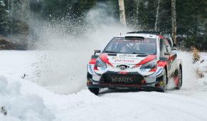 foto: Kalle Rovanperä, futura estrella del WRC