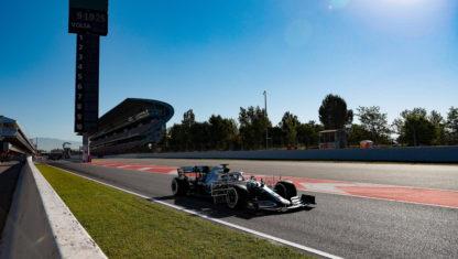 foto: Alineaciones de pilotos para los test de pretemporada F1 2020