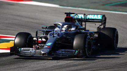 foto: Así es el volante 'mágico' de Mercedes y Hamilton