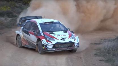 foto: Toyota WRT prepara en Almería el Rally de México