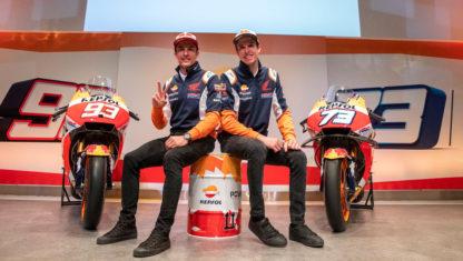 foto: Marc y Álex Márquez analizan su pretemporada con Honda