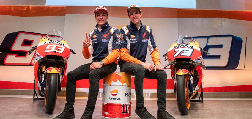 Marc y Álex Márquez analizan su pretemporada con Honda