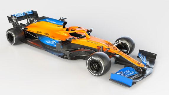 foto: McLaren desvela el MCL35 de Carlos Sainz
