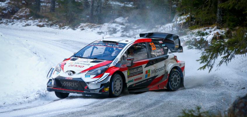 Rally Suecia: Victoria y candidatura al título de Elfyn Evans