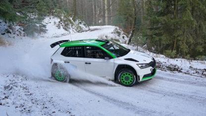 foto: Oliver Solberg entrena en España tras ampliar su programa en el WRC