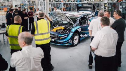foto: M-Sport cambia de planes y ya trabaja en el Ford de 2022