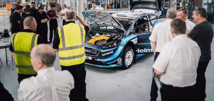 M-Sport cambia de planes y ya trabaja en el Ford de 2022