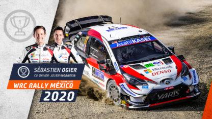 foto: Seb Ogier, victoria en el Rally de México y liderato del WRC
