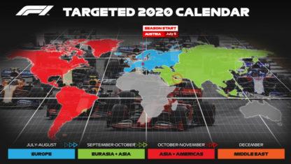 foto: La F1 actualiza su calendario que arrancará en Austria en julio