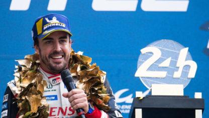 foto: Fernando Alonso buscará su tercera victoria en Le Mans