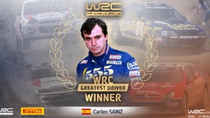 foto: Carlos Sainz, elegido mejor piloto de la Historia del Mundial de Rallys