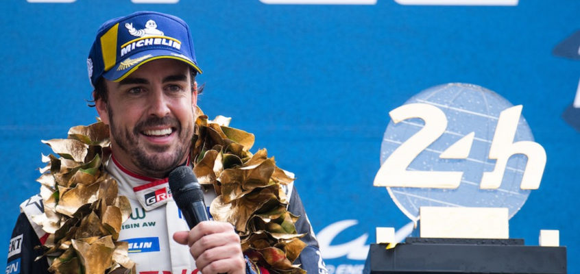 Fernando Alonso buscará su tercera victoria en Le Mans
