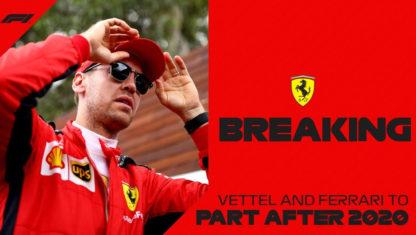 foto: Sebastian Vettel dejará Ferrari a finales de 2020