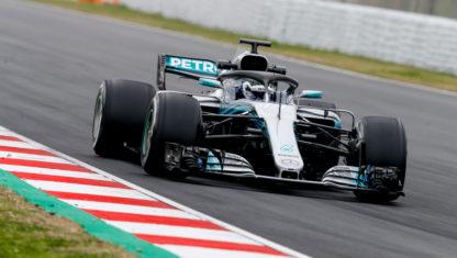 foto: Mercedes regresará a la pista con un test