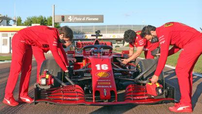 foto: Ferrari, Renault, Racing Point y McLaren, ya ruedan