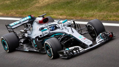 foto: La F1 calienta motores: Mercedes, Ferrari y Racing Point, a pista