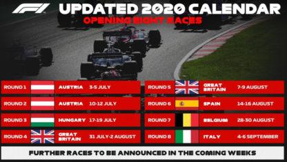 foto: OFICIAL: Estas son las 8 primeras carreras del Mundial de F1