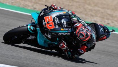 foto: GP España MotoGP: Victoria y candidatura al título de Quartararo; caída de Márquez