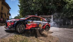 foto: Primer triunfo del curso de Dani Sordo en el Rally Stars del Rally de Roma