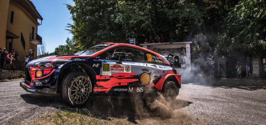 Primer triunfo del curso de Dani Sordo en el Rally Stars del Rally de Roma