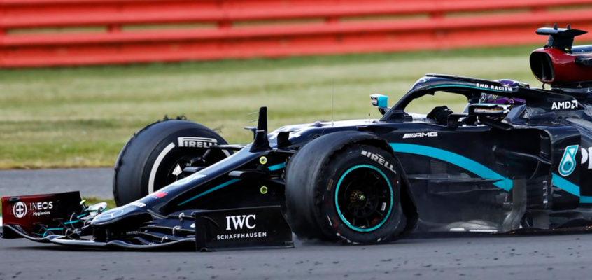 Crónica GP de Gran Bretaña de F1 2020: Hamilton gana con un ¡neumático pinchado!