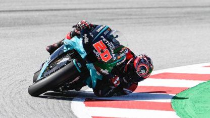 foto: GP de Cataluña:Quartararo gana y recupera el liderato con las Suzuki en el podio