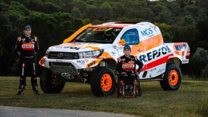foto: Isidre Esteve disputará el Dakar 2021 con un Toyota Hilux