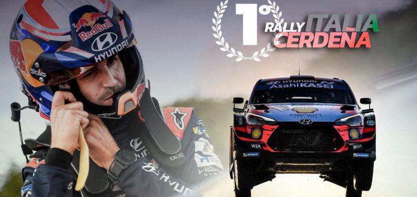 Dani Sordo repite (emocionante) triunfo en el Rally Italia-Cerdeña