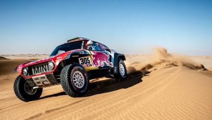 foto: Carlos Sainz repetirá con el X-Raid y Mini en el Dakar 2021