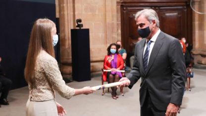 foto: Carlos Sainz recibe el Premio Príncipe de Asturias de los Deportes