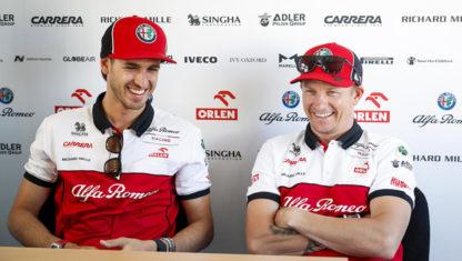 foto: Raikkonen y Giovinazzi seguirán con Alfa Romeo en 2021