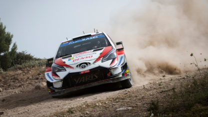 foto: Rally de Italia-Cerdeña: Primer 'match ball' para Evans