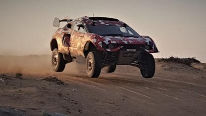 foto: Test de Roma y Loeb con su coche para el Dakar 2021