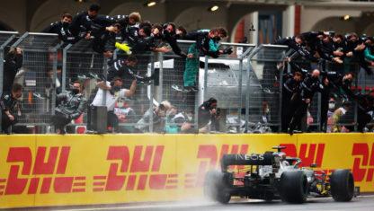 foto: Gran Premio de Turquía: Hamilton iguala los siete títulos de Schumacher