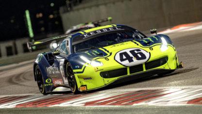foto: Rossi regresa a las 12 Horas del Golfo con su hermano y un Ferrari