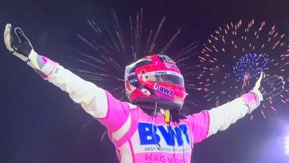 foto: GP de Sakhir F1: Victoria de Pérez y exhibición de Russell con Sainz cuarto