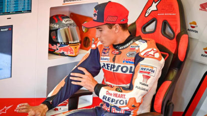 foto: ¿Peligra la carrera deportiva de Marc Márquez?
