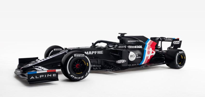 Así es el Alpine A521, el coche de Alonso para la F1 2021