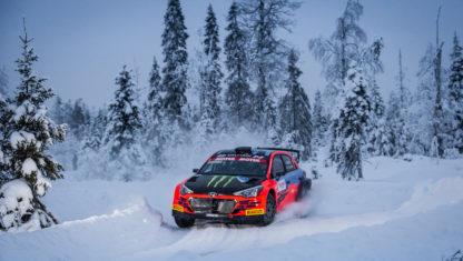 foto: Eldebut del Artic Rally en elWRC, sin público y en peligro
