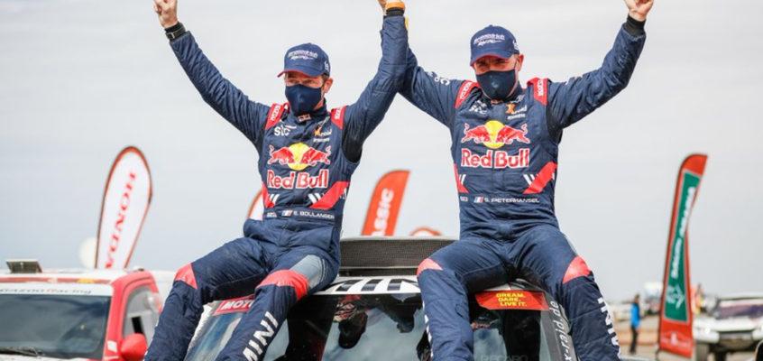 Stéphane Peterhansel gana su 14º Dakar, 8º en coches