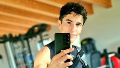 foto: Marc Márquez comienza a entrenar y avanza en su recuperación