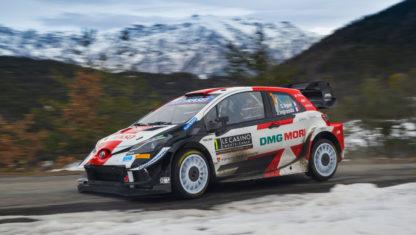 foto: Histórico octavo triunfo de Seb Ogier en el Rally de Montecarlo 2021