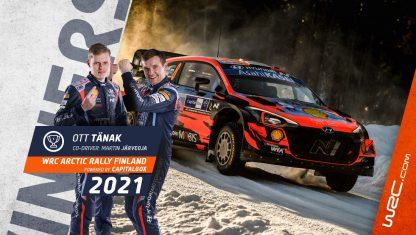 foto: Rally Ártico Finlandia: Tänak impone su ley y Rovanperä, nuevo líder del WRC