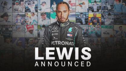 foto: Lewis Hamilton renueva con Mercedes sólo para 2021