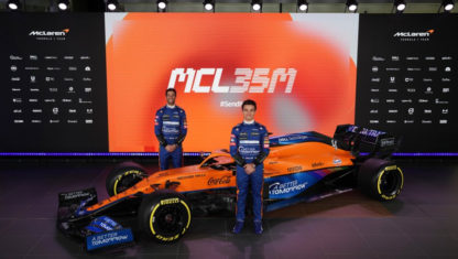 foto: McLaren MCL35M: Nueva era con la vuelta del motor Mercedes